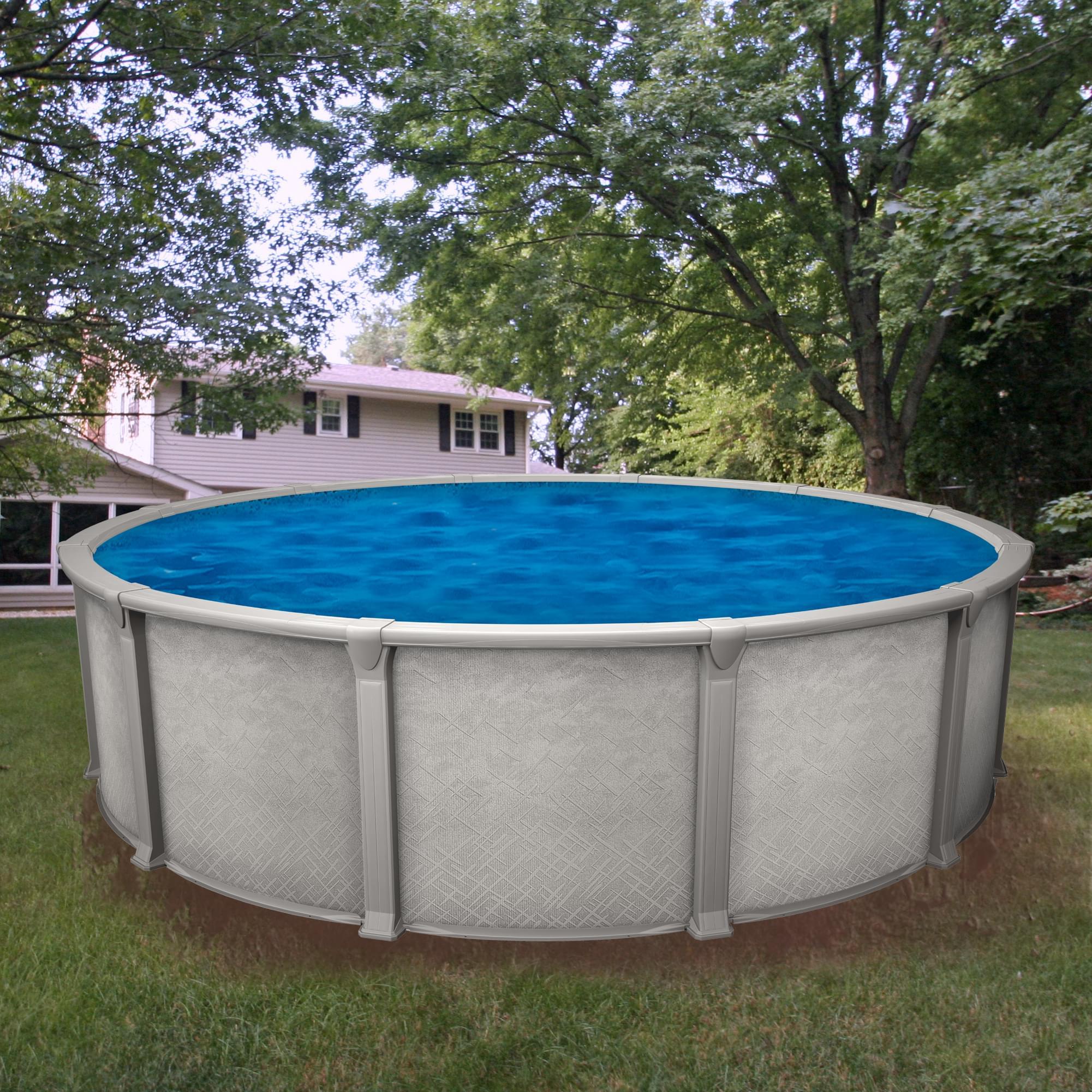 Galaxy 15 pied ronde piscine hors te magasin de piscine for Chauffe eau pour piscine hors terre