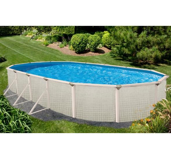 Evolution 12 x 24 pied ovale pisc magasin de piscine canada for Chauffe eau pour piscine hors terre