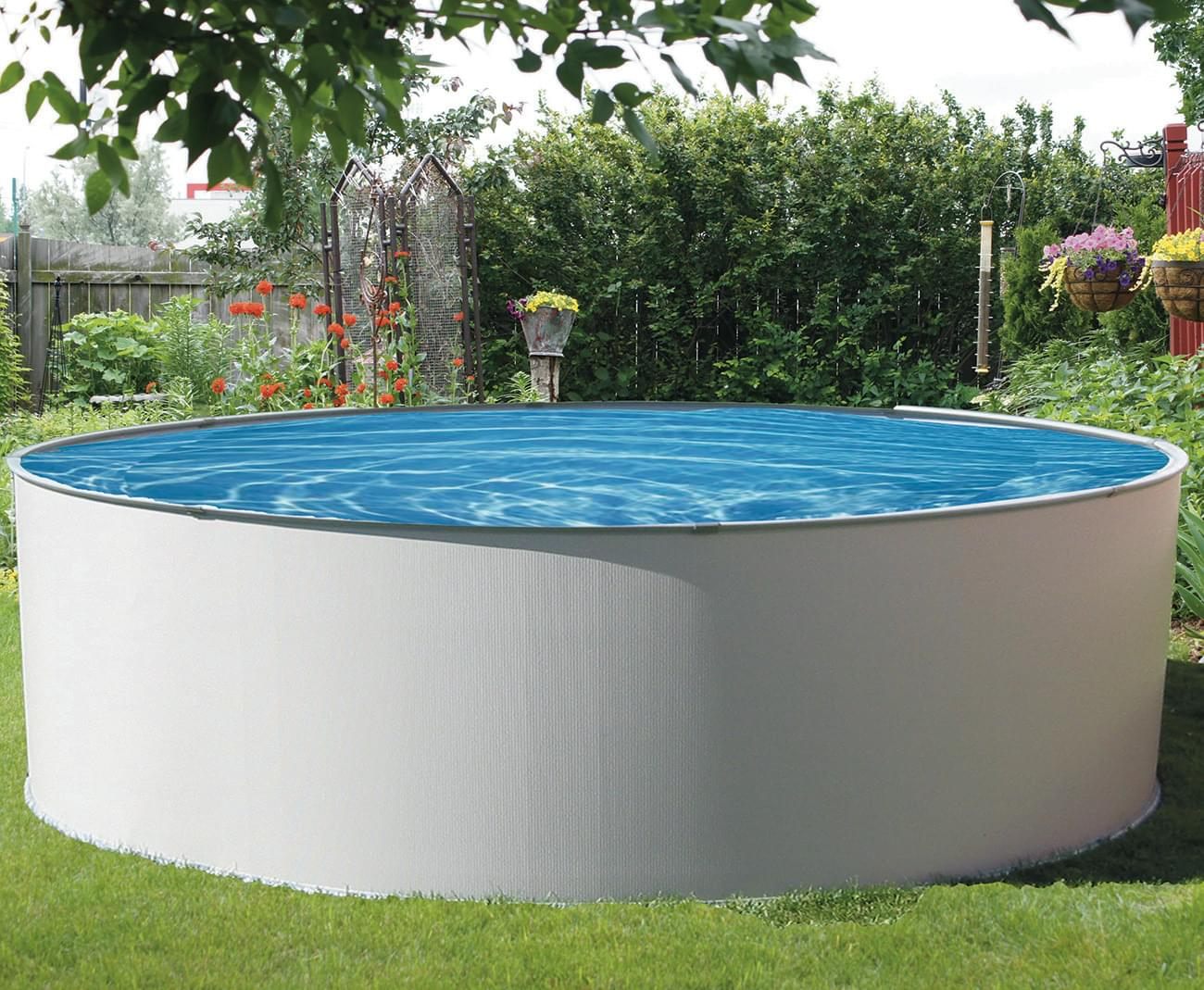 Simplicity 12 round above ground pool pool supplies canada for Club piscine above ground pools prices