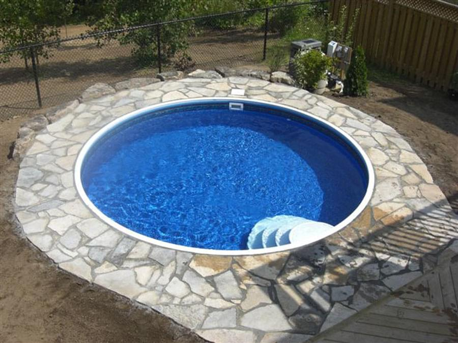 Semi Inground Pools Canada Joy Studio Design Gallery