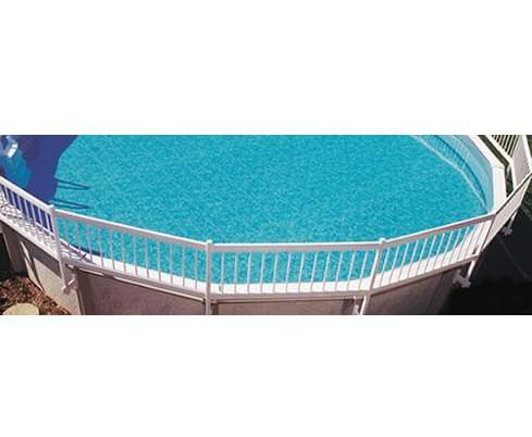 Trousse b pour cl ture blanche pisci magasin de piscine for Chauffe eau pour piscine hors terre